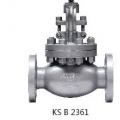 ㉿ CAST STEEL 20K FLANGED GLOBE VALVE