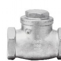 STAINLESS STEEL SWING CHECK VALVE-SCREWED TYPE