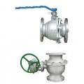STAINLESS STEEL 10K FLAN TYPE BALL VALVE(1MPa)