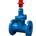 DUCTILE IRON 10K FLANGED RESILIENT SEATED GATE VALVE