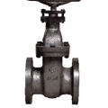 CAST IRON 10K FLANGED GATE VALVE (RISING STEM)