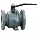 CAST IRON 10K FLANGED BALL VALVE