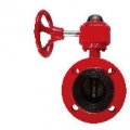 CAST IRON 10K FLANGED BUTTERFLY VALVE