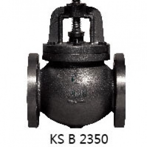 CAST IRON 10K FLANGED GLOVE VALVE