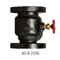 CAST IRON 10K FLANGED LIFT CHECK VALVE