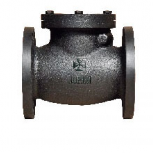 CAST IRON 10K FLANGED SWING CHECK VALVE